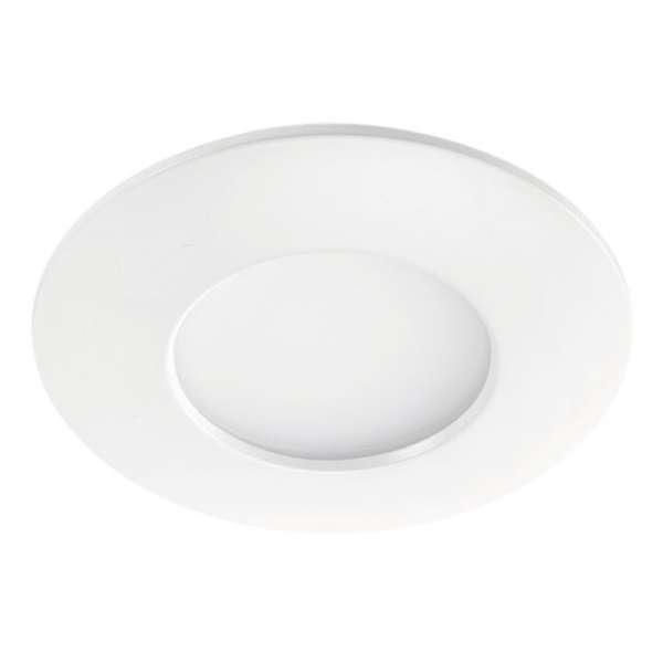 Spot encastré LED fixe blanc Aquaflat - 6 W - 3000 K - Aric