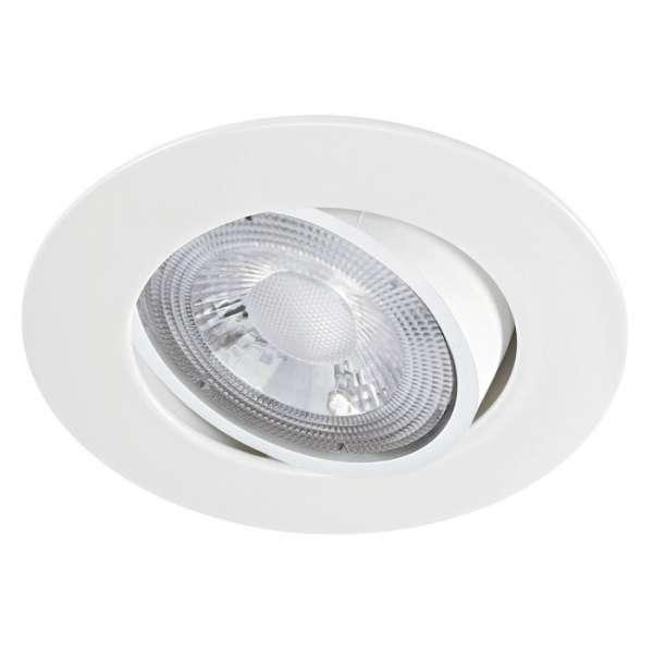 Spot encastré LED orientable blanc MI6 - 5,5 W - 3000 K - Aric