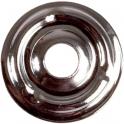 Rosace plate chromé - Ø 25 mm - Plombelec