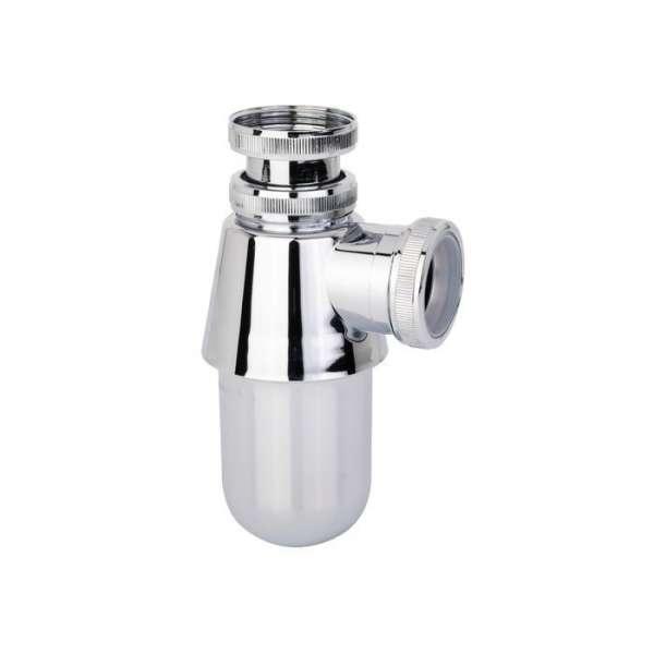 Siphon bidet - lavabo en ABS chromé - Valentin