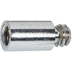 Rallonge acier chromé droit à visser - M7 x 150 - 20 mm - Rapido - Plombelec