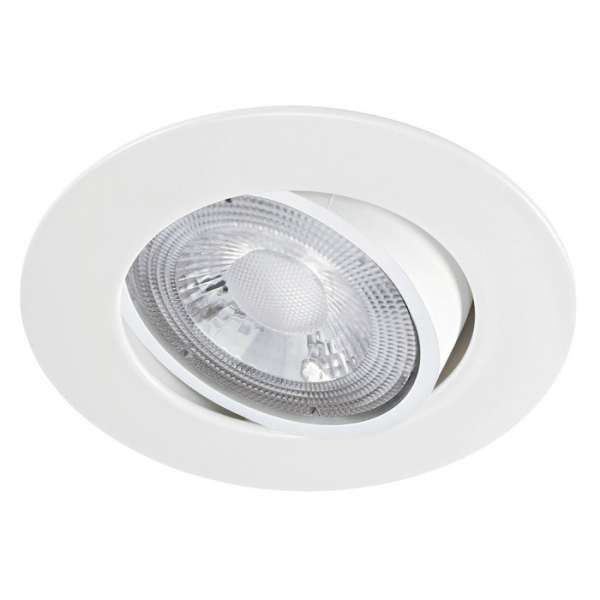 Spot encastré LED orientable blanc MI6 - 5,5 W - 4000 K - Aric