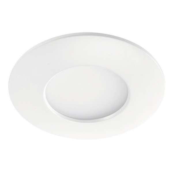 Spot encastré LED fixe blanc Aquaflat - 6 W - 4000 K - Aric