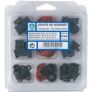 Assortiment de joints - Coffret de 112 pièces - Watts industries