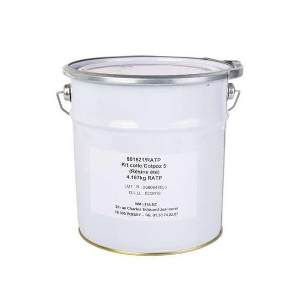 Colle bi-composant - 5 kg - COLPOZ® - Wattelez