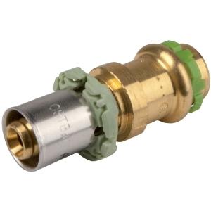 Adaptateur multicouche / cuivre droit à sertir - Femelle - Ø 16 mm - Comap