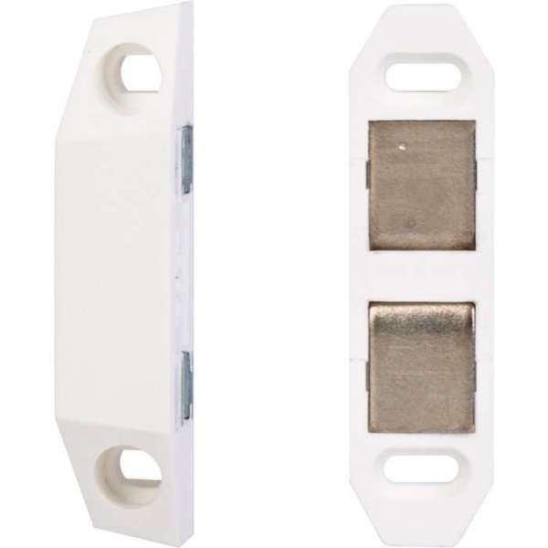 Loqueteau magnétique - blanc 2kg - Hafele