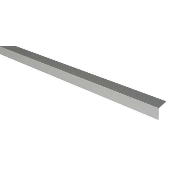 Cornière égale aluminium anodisé - 30 x 30 mm - 2 m - Duval