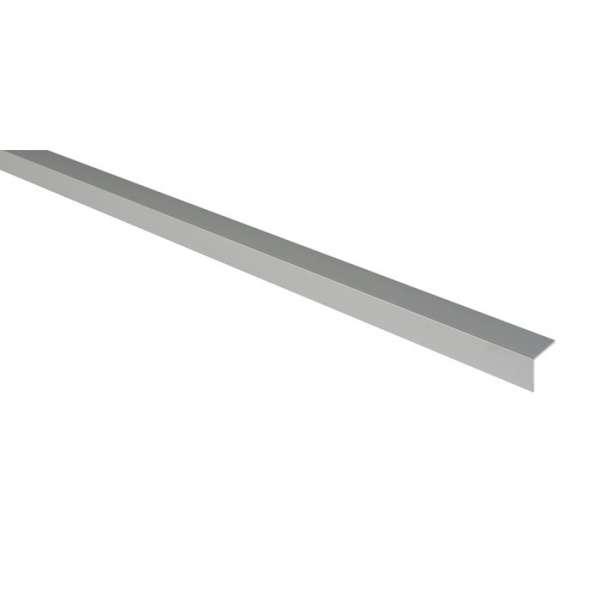 Cornière égale aluminium anodisé - 25 x 25 mm - 2 m - Duval
