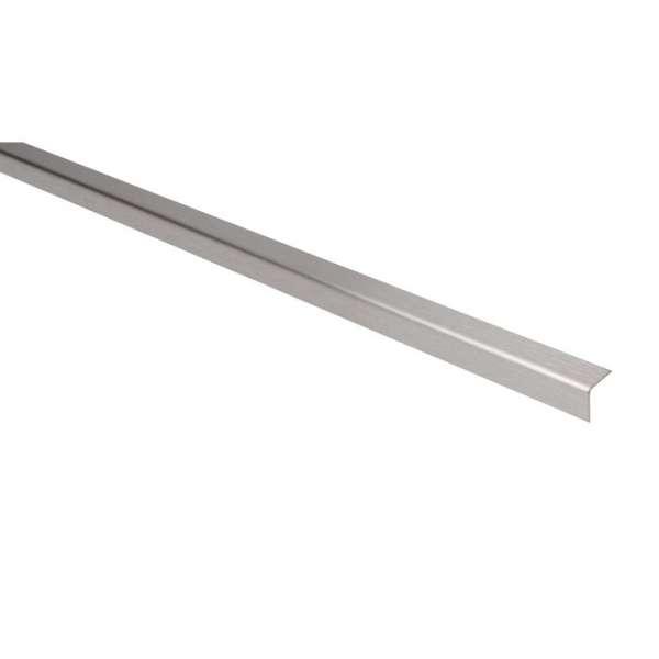 Cornière égale inox satiné - 25 x 25 mm - 2 m - Duval