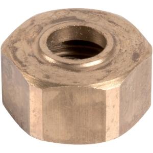 """Écrou laiton hexagonal à visser - F 3/8"""" - Ø 8 mm - Comap"""