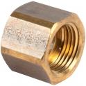"""Raccord laiton hexagonal avec portée à visser - F 3/8"""" - Comap"""