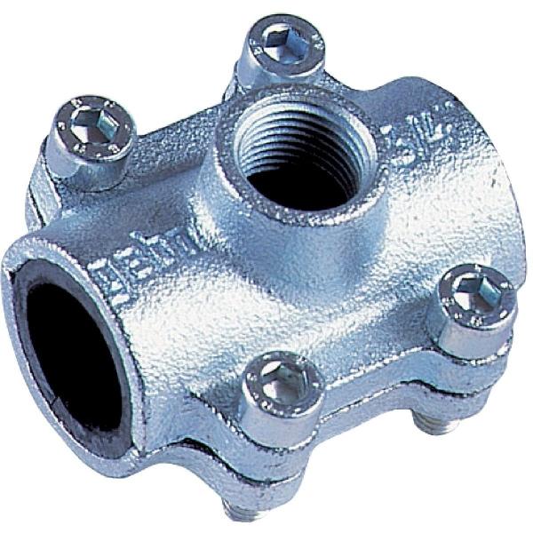Collier de dérivation fonte malléable - F 1/2' - Ø 1/2' - Gebo