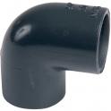 Raccord PVC pression noir coudé 90° - Femelle Ø 20 mm - Girpi