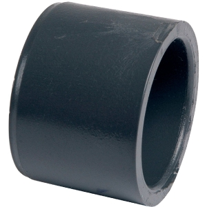 Raccord PVC pression noir réduit - Mâle / femelle Ø 25 - 20 mm - Girpi