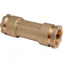 Raccord PE de réparation droit à serrage - Femelle - Ø 20 mm - Rexuo - Huot