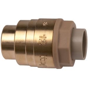 Bouchon laiton à emboîtement - Femelle - Ø 12 mm - Itap-Fit - Itap