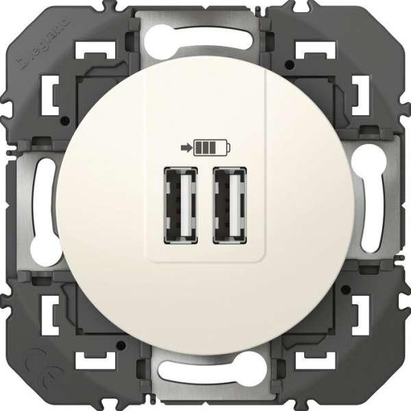 Prise double de charge USB - Legrand