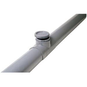Selle de réparation PVC gris - Femelle Ø 100 - 90 mm - Nicoll