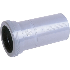 Raccord de réparation PVC gris - Femelle Ø 100 mm - Nicoll