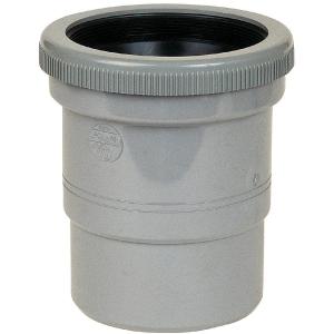 Raccord de dilatation PVC gris - Mâle / femelle Ø 32 mm - Nicoll