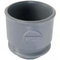 Adaptateur PVC gris droit - Ø 32 mm - Nicoll
