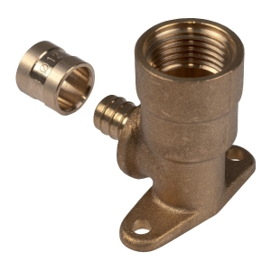 """Applique PER longue coudé 90° à glissement - F 1/2"""" - Ø 12 mm - PB tub"""