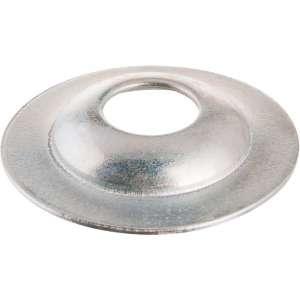 Rosace conique zinguée blanc - 4 mm - Vendu par 100 - Plombelec