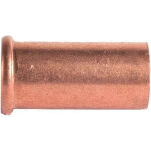 """Douille cuivre droit - Pour écrou F 3/8"""" - Ø 12 mm - Hecapo"""