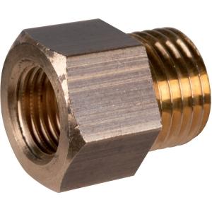 """Raccord laiton hexagonal réduit à visser - M 1/4"""" - Femelle M10 x 100 - Bonnel Décolletage"""