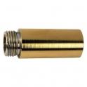 """Rallonge laiton polie droit à visser - M 1/2"""" - F 1/2"""" - 50 mm - Laigneau"""