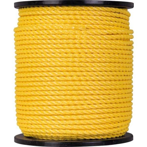 Bobine de corde polypropylène - Ø 8 mm - Corderies Tournonaises