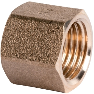 """Raccord laiton hexagonal à visser - F 1/4"""" - 270G - Thermador"""
