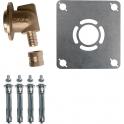 """Sortie de cloison simple à glissement - PER Ø 12 mm - F 1/2"""" - Robifix - Watts industries"""