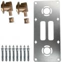 """Sortie de cloison double à glissement - Entraxe 150 mm - PER Ø 12 mm - F 1/2"""" - Robifix - Watts industries"""