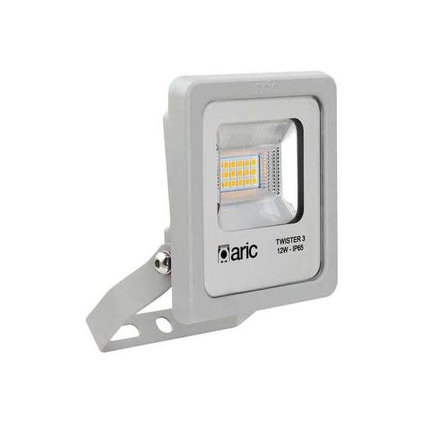 Projecteur LED gris Twister 3 - 12 W - 3000 K - Aric