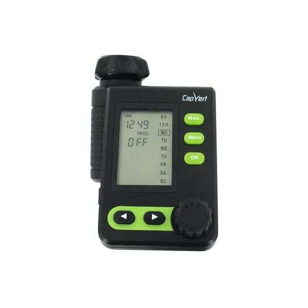 Programmateur d'arrosage électronique LCD CPV527 Plus - 1 voie - Cap Vert