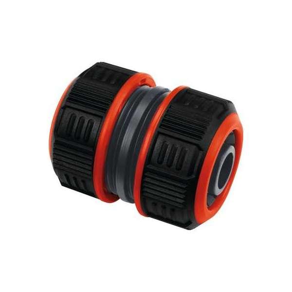 Raccord de réparation d'arrosage bi-matière Lock - Tuyau Ø 15 mm - Cap Vert