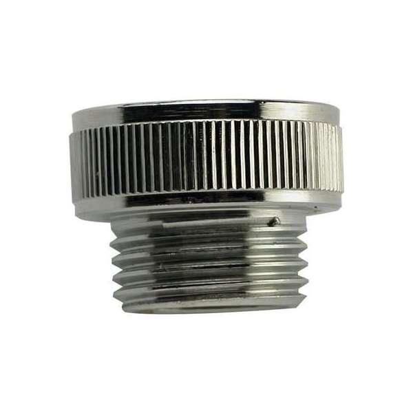 Adaptateur de flexible ABS Disflex - Chromé - Mâle 3/4' - Femelle 1/2' - Disflex