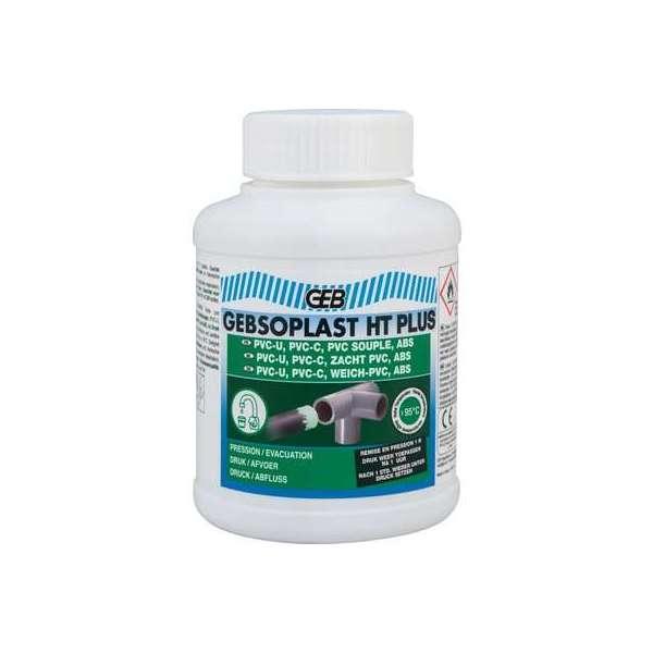 Colle PVC éléments de canalisation - Gebsoplast HT Plus - 250 ml - Geb