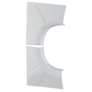 Angle intérieur variable - Pour goulotte 65 x 150 / 195 mm - Couvercle 130 et 180 mm - DLP monobloc - Legrand