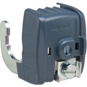 Connecteur de liaison équipotentielle - 16 mm² - Ø 18 à 22 mm - Legrand