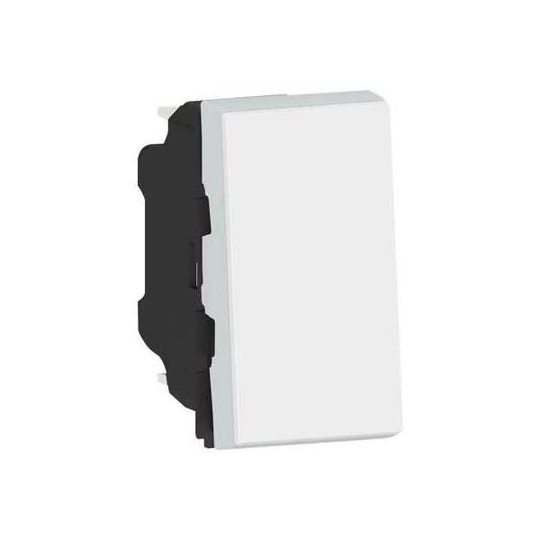 Interrupteur ou va-et-vient 10 AX - 250 V - 2 module - Easy-Led - Mosaic - Legrand