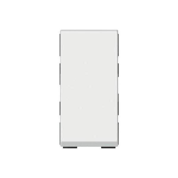 Poussoir ou poussoir inverseur Mosaic - Easy-Led - 2 module - Blanc antimicrobien - Legrand