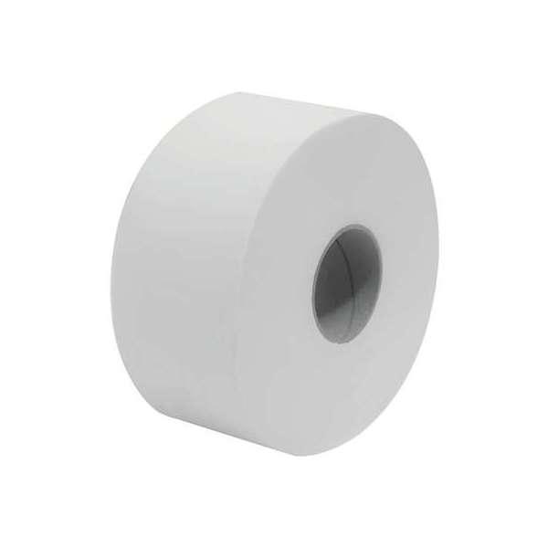 Rouleau papier toilette blanc - 160 m - Lot de 12 - MP Hygiene