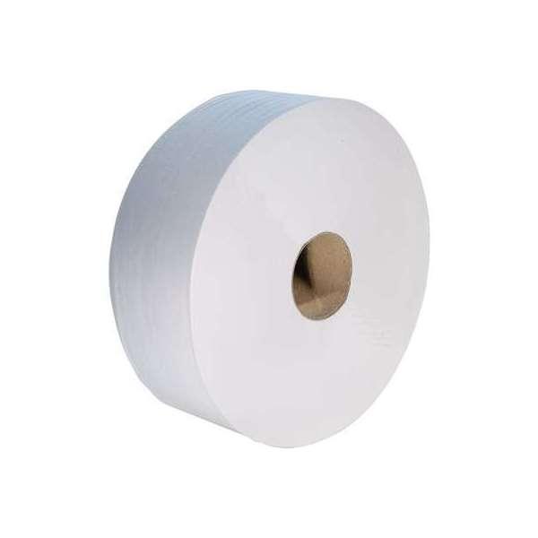 Rouleau papier toilette blanc - 360 m - Lot de 6 - MP Hygiene