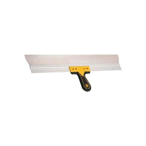 Couteau à enduire inox Nespoli - Manche bi-matière confort - Longueur lame 35 cm - Sélection Cazabox