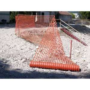 Grillage de chantier - Orange - Longueur 50 m - Largeur 1 m - Novap