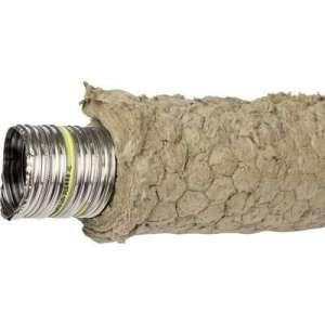 Tubage TEN LISS pré-isolé TEN - Diamètre 80 - longueur 14m - Tolerie Emaillerie Nantaise
