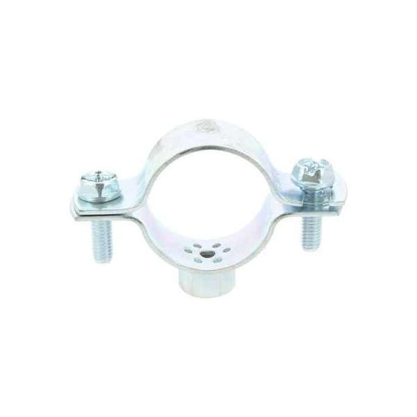 Collier de fixation série lourde Turbo - 1'1/4 - Diamètre tube 33 à 42 mm - Viswood